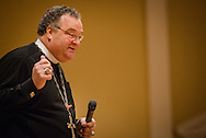 The Rev. Dr. Matthew C. Harrison, president of The Lutheran Church–Missouri Synod, speaks at the Liberty National LCMS Campus Ministry Conference on Thursday, Jan. 5, 2017, at the University of Maryland in College Park, Md. LCMS Communications/Erik M. Lunsford