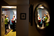 Linda Groeber, 67, talks with her daughter Annie Groeber, and granddaughter, Annie Brown, 9, in Lutherville-Timonium, Maryland on Wednesday, January 13, 2010. As she ages Linda has relied more on her daughters Tracey Brown and Annie Groeber to help with day-to-day tasks.