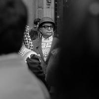 Once de Septiembre de 2013. Se cumplen 40 años del Golpe Militar. Actos conmemorativos en la Plaza de la Constitucion, frente a La Moneda y a los pies del monumento que recuerda al Presidente Salvador Allende. Santiago de Chile. 11-09-2013 (©Alvaro de la Fuente/Triple.cl)