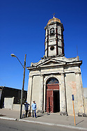 Church in Cruces, Cienfuegos Province, Cuba.