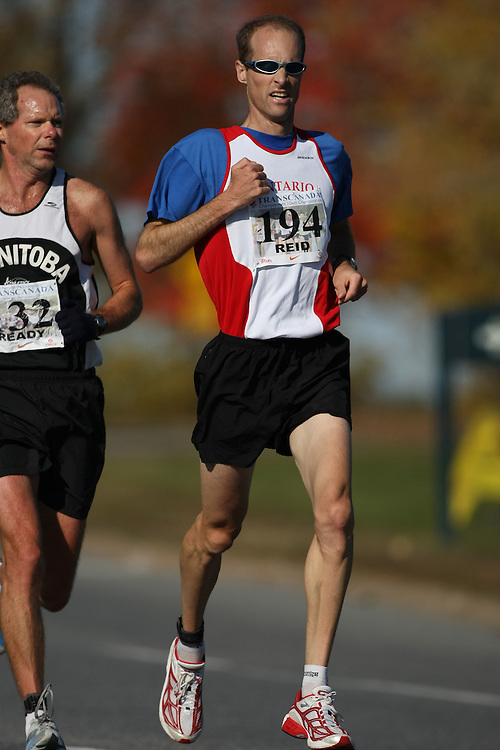 (Ottawa, ON---18 October 2008) IAN REID competes in the 2008 TransCanada 10km Canadian Road Race Championships. Photograph copyright Sean Burges/Mundo Sport Images (www.msievents.com).