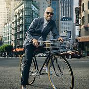 Vaughn Brown, founder of Parker Dusseau apparel, San Francisco, CA   Bicycling Magazine