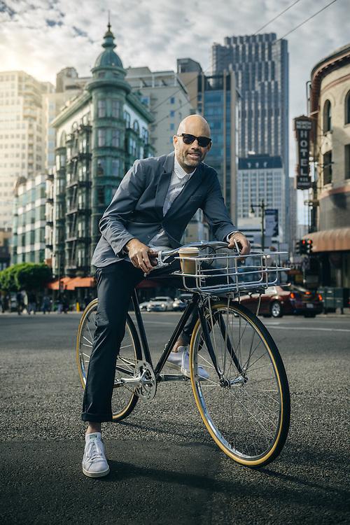 Vaughn Brown, founder of Parker Dusseau apparel, San Francisco, CA | Bicycling Magazine