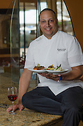 Chef Efrain Cruz, Alfredo's Restaurant, Intercontinental Hotel, Carolina, Puerto Rico. 2013