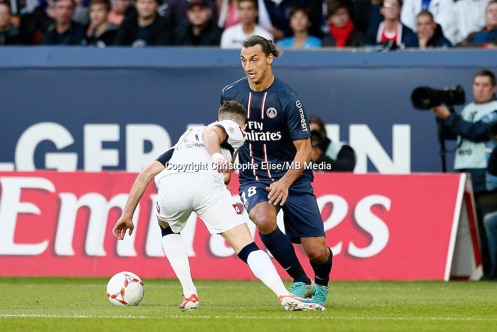 FOOTBALL - FRENCH CHAMPIONSHIP 2012/2013 - L1 - PARIS SAINT GERMAIN VS SOCHAUX - 29/09/2012 - ZLATAN IBRAHIMOVIC (PARIS SAINT-GERMAIN)