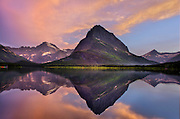 Swiftcurrent Lake, Glacier National Park, MT.