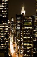 Night on Manhattan