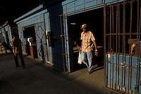 Cuban man shopping in Havana