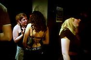 In a Camden club, London, 2005..