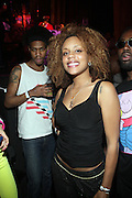 """Dominique Andriese at The YRB Magazine's """" How You Rock It 3 """" with a special performance by Busta Ryhmes and hosted by YRB held at M2 Lounge on May 19, 2009 in New York City."""
