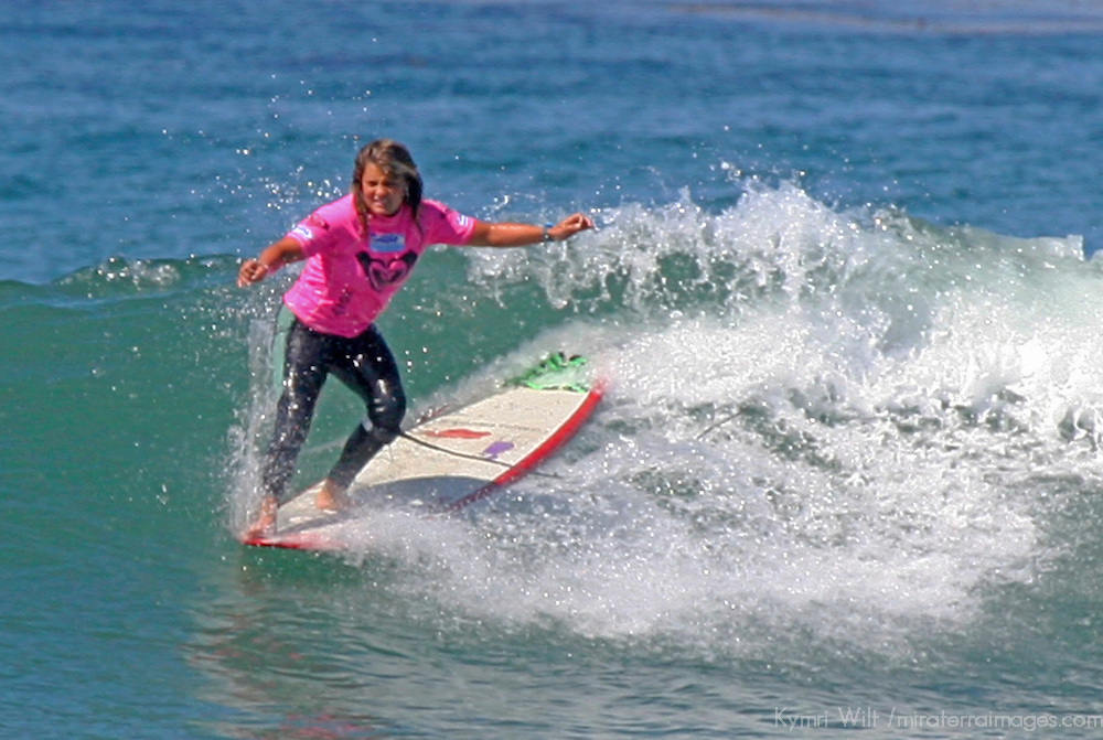 Chelsea Williams at the 3rd Annual Roxy Jam Cardiff Linda Benson Women's World Longboard Professional 2008.