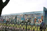 Government's posters in the centre of Tashkent