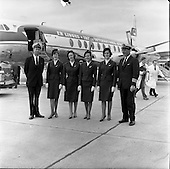 1962 - Aer Lingus crew to fly Princess Margaret and Lord Snowden to Shannon.