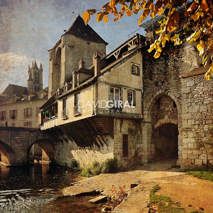 The Old City of Moret-Sur-Loing, Seine et Marne, France