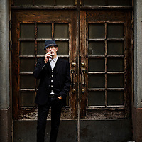 French film director Jacques Audiard photographed in Helsinki 1.10.2012