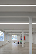 office, commercial, lighting, london, england, uk, interior, architecture, building