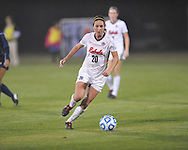 Ole Miss' Olivia Harrison (20) vs. Jackson State in NCAA Soccer Tournament in Oxford, Miss. on Friday, November 15, 2013. Ole Miss won 9-0.
