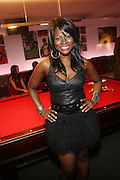 Abiola Abrams at The Men of Style Awards presented by Gillette Fusion and Rolling Out Urbanstyle Weekly held at the 40/40 Club on Novemeber 2, 2009 in New York City