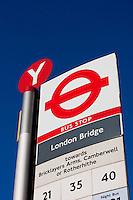 london bridge bus stop