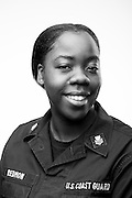 Christina Redmon<br /> Active Duty Coast Guard<br /> E-6<br /> Store Keeper<br /> July 2004 - Present<br /> <br /> Coast Guard base located in Charleston, SC, on Sept. 4, 2013. For the Veterans Portrait Project.