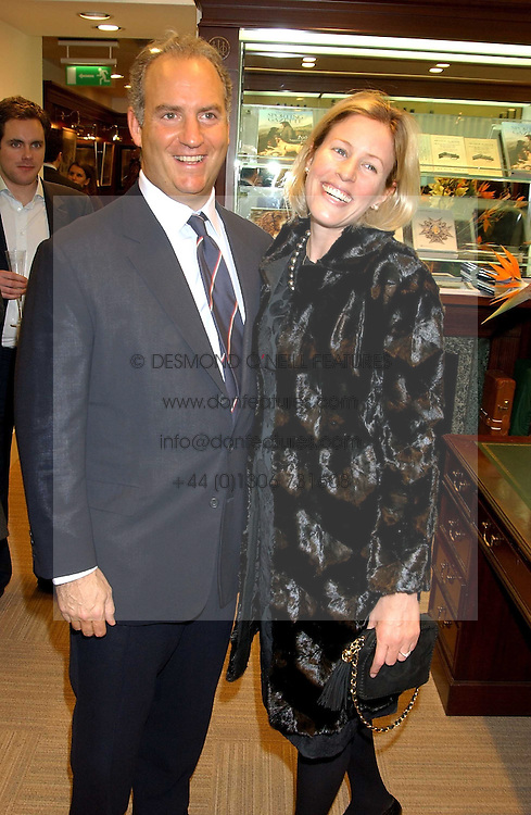 CHARLES &amp; SYDNEY FINCH at a party hosted by the Gussalli Beretta family to celebrate the opening of the new Beretta store, 36 St.James's Street, London SW1 on 10th January 2006.<br /><br />NON EXCLUSIVE - WORLD RIGHTS
