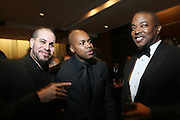 l to r: Grouchy Greg Watkins, D-Nice and Chuck Creekmor at The HipHop Inagual Ball Hennesey Lounge held at The Harman Center for the Arts in Washington, DC on January 19, 2009..The first ever Hip-Hop Inaugural Ball, a black tie charity gala, benefiting the Hip-Hop Summit Action Network. The Ball will kick off with a star-studded red carpet presentations of the National GOTV Awards, recognizing artists who have made outstanding contributions to the largest young adult voter turnout in American history.