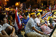 An estimated 3000 protesters have taken to the streets in defiance of a government decree banning gatherings protesting at both the current and past leaders of the Thai government. protestors are calling for wholesale change at all levels withing the ruling government as well as the trial on charges of curruption against the oustest former leader Thaksin Sunnawatra