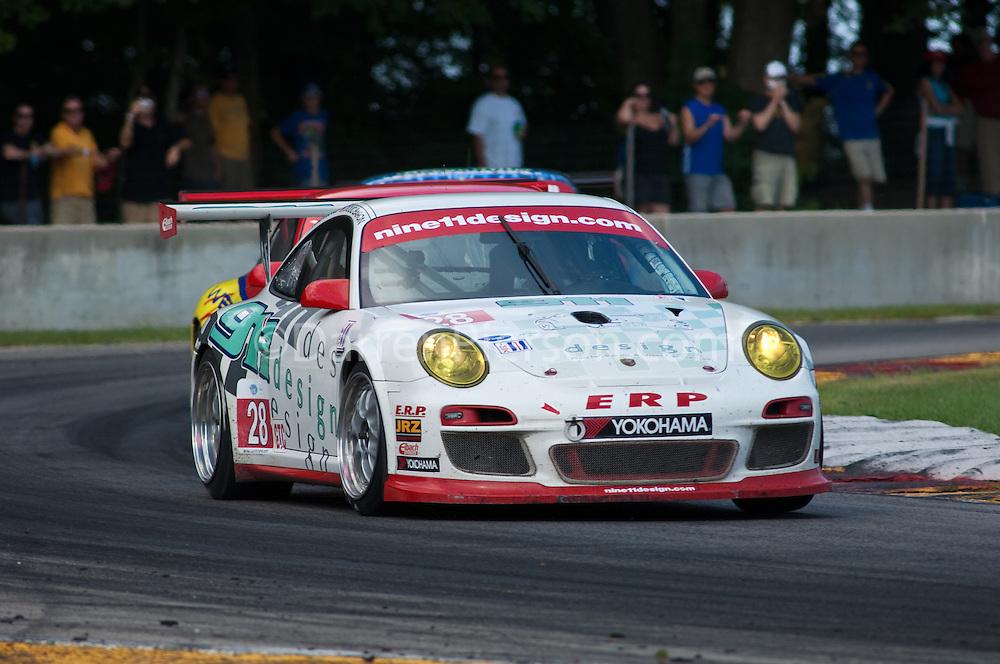 #28 911 Design Porsche 911 GT3 Cup: Loren Beggs, Doug Baron