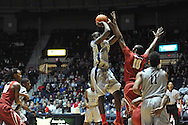 "Mississippi's Dwight Coleby (23) vs. Alabama at the C.M. ""Tad"" Smith Coliseum in Oxford, Miss. on Wednesday, February 26, 2014. (AP Photo/Oxford Eagle, Bruce Newman)"