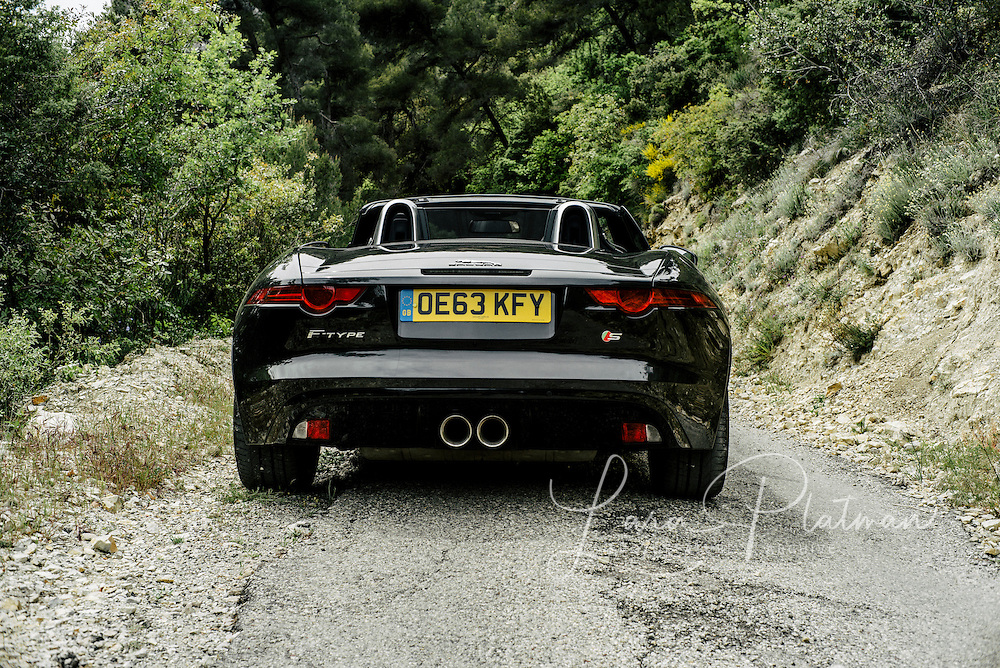 Road trip in the Jaguar F Type to Monaco