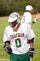 Boys HS Lacrosse at Thacher School Ojai CA 2011.