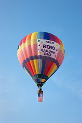 """Great Reno Balloon Race Balloon"" - This hot air ballon was photographed during the 2011 Great Reno Balloon Race."