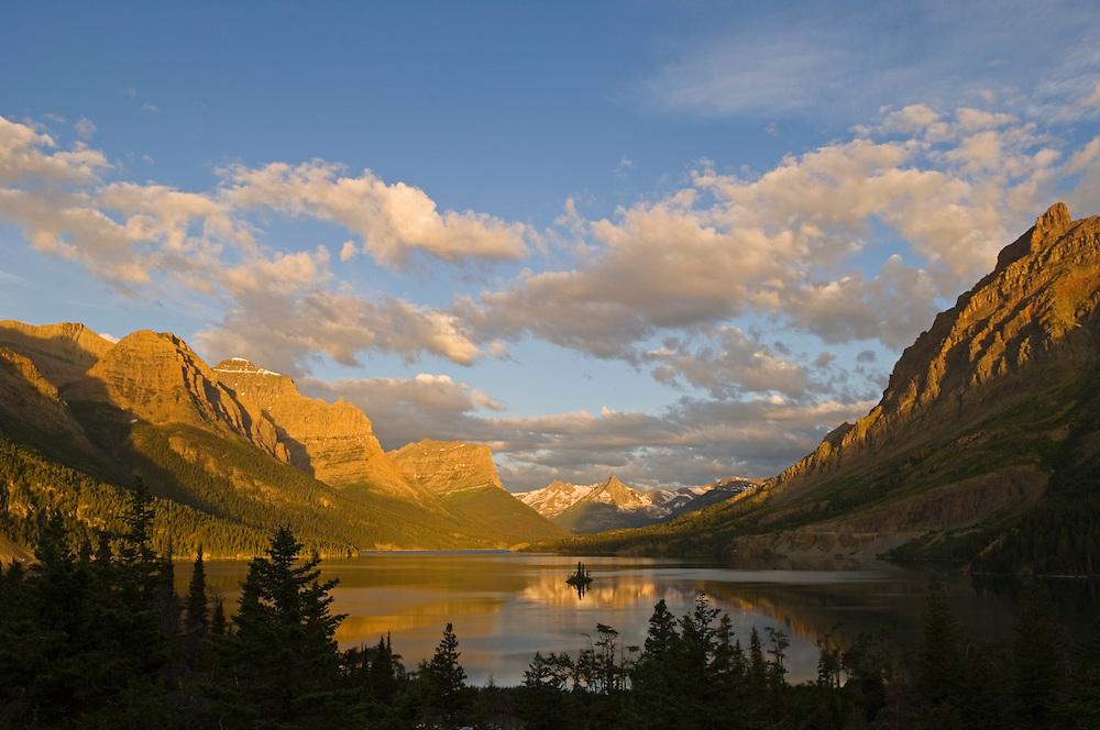Saint Mary Lake Glacier National Park Greg Blog