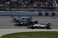Scott Dixon, Danica Patrick, Marco Andretti, Iowa Corn Indy 250, Iowa Speedway, Newton, IA USA 22/6/08,