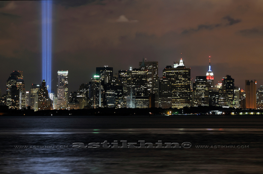 Tribute in Light - We Shall Never Forget