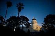 The State Capitol in Sacramento, California.