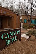 Santa Fe, New Mexico, Canyon Road