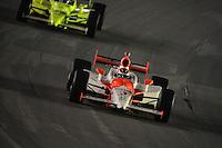 Helio Castroneves,  Meijer Indy 300, Kentucky Speedway, Sparta, KY 010809 09IRL12