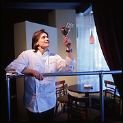 "Chef Donna Chriszt at her restaurant, ""Jeso."""