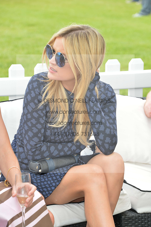 LAURA WHITMORE at the St.Regis International Polo Cup at Cowdray Park, Midhurst, West Sussex on 17th May 2014.