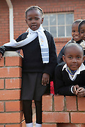 12 May 2011, Leribe, Leribe District, Lesotho. The Grade 0 pupils at Mount Royal Primary School.
