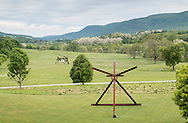 Mountainville, New York - Views of the Storm King Art Center on  May 21, 2015.