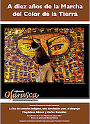 Cover for Ojarasca, supplement of La Jornada newspaper, march 2011