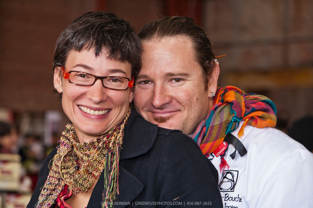 Farmer Hanna Jacobs and Chef Jason Inniss