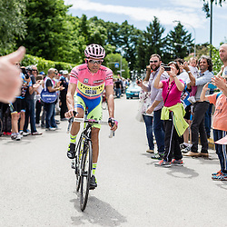 Many fans look forward to seeing the Maglia Rosa, and it's bound to raise some cheers.