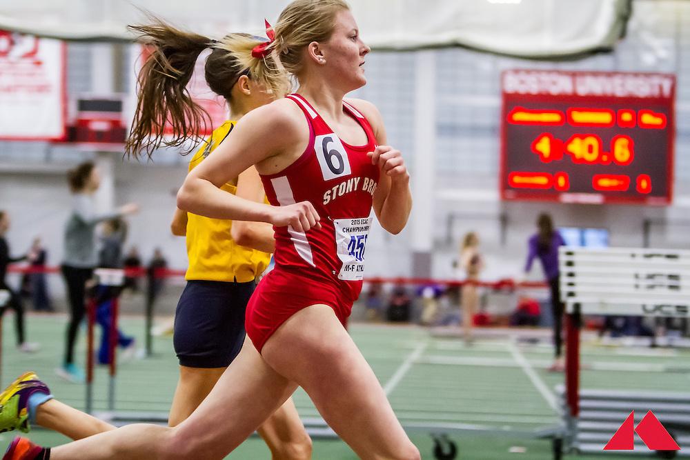 ECAC Indoor Champs, womens 5000, Caldwell, Elizabeth       SO Stony Brook