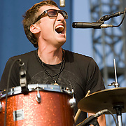 Friday, August 1, 2008; Mates of State performs at Lollapalooza 2008..Photo by Bryan Rinnert