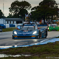 #90 VisitFlorida.com Racing Corvette DP: Ryan Dalziel, Marc Goossens, Ryan Hunter-Reay