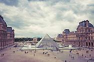 The iconic gallery, Musée du Louvre, Paris, France.
