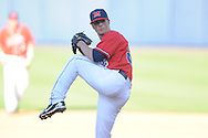 Ole Miss' Mike Mayers pitches vs. Alabama at Oxford-University Stadium in Oxford, Miss. on Saturday, April 13, 2013. Ole Miss won 5-2.